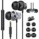 Auricolari, Auricolari In-Ear, Auricolari in ear con Microfono, Isolamento del Rumore, Alta Definizione, Bassi Potenti, Cuffi