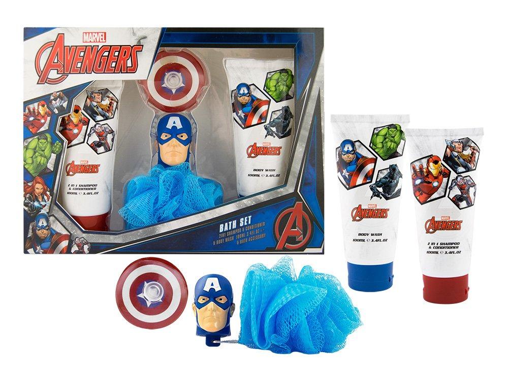 Avengers – Marvel Capitán América de los Vengadores Set de Regalo Infantil – 3 Piezas