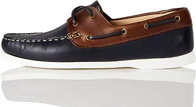 Marque Amazon - find. Boat Shoe, Chaussures bateau femme