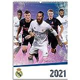 Grupo Erik - Calendario de pared 2021 Real Madrid Grupo, A3