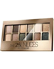 Maybelline New York The 24K Gold Nude Palette Eyeshadow, 9g