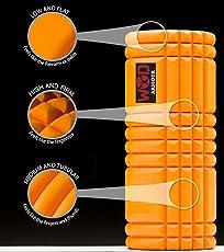 WOD ARMOUR Grid Foam Roller(Heavy Duty) with ABS