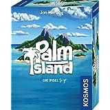 KOSMOS 741716 – Palm Island, ön to go, leker bekvämt i handen, kortspel för 1 till 2 spelare från 10 år