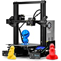 Creality Ender-3 DIY Kit 3D Printer, Resume Printing V-Slot Prusa i3, Build Volume 220 x 220 x 250 mm, for Home and…