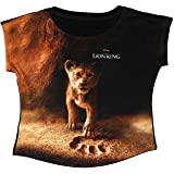 Lion King Girl's Regular Fit T-Shirt