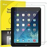 JETech Protector de Pantalla iPad 4, iPad 3 y iPad 2, Vidrio Templado, 2 Unidades
