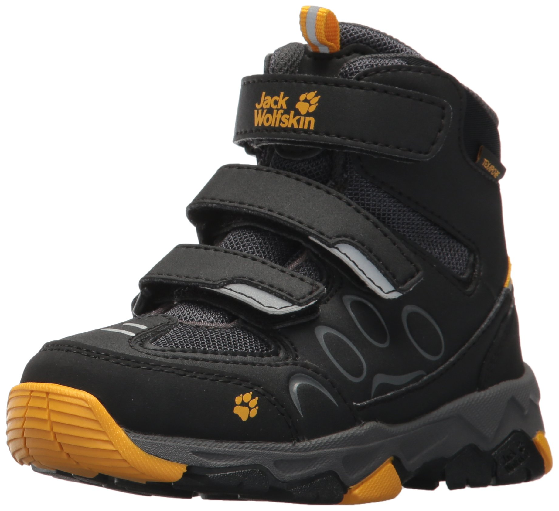 Jack Wolfskin Boy's Unisex Kids' MTN Attack 2 Texapore Mid Vc K High Rise Hiking Shoes Child 1