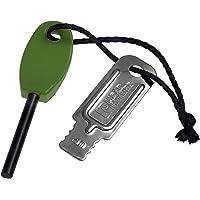 Light My Fire - Mini acciarino da fuoco, colore: Verde scuro