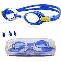 Lunette Piscine Enfant, Lunette Protection, Vision Large Protection Ultravioleta Anti-buée Aucune Fuites Imperméables…