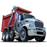Cool dump truck games for kids free activity app: Highway simulator