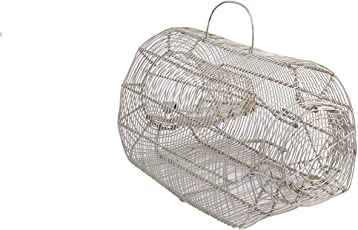 MTS Big Size Iron Trap / Trapper / Cage /Catcher To Capture Multiple Small & Big Rat / Mouse / Rodent / Chipmunk No Kill, Capture Live Rats, Mousetrap