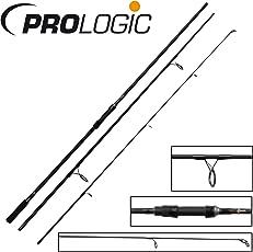 Prologic Cruzade 12ft 3lbs Karpfenruten, 3,60m, 3-teilige Steckruten zum Karpfenangeln, Karpfenrute, Angelrute zum Karpfenfischen