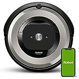 iRobot Roomba e5154 Wifi, Robot aspirador óptimo para mascotas, aspiración alta potencia, 2 cepillos goma, alfombras y suelos