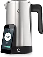 Smarter 88-SMKET01-UK iKettle Smart WiFi Kettle, Brushed Stainless Steel, 1.8 Litre (3rd Generation) - Silver