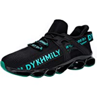 DYKHMATE Steel Toe Cap Trainers for Men Women Lightweight Breathable Safety Trainers Slip Resistant Safety Shoes