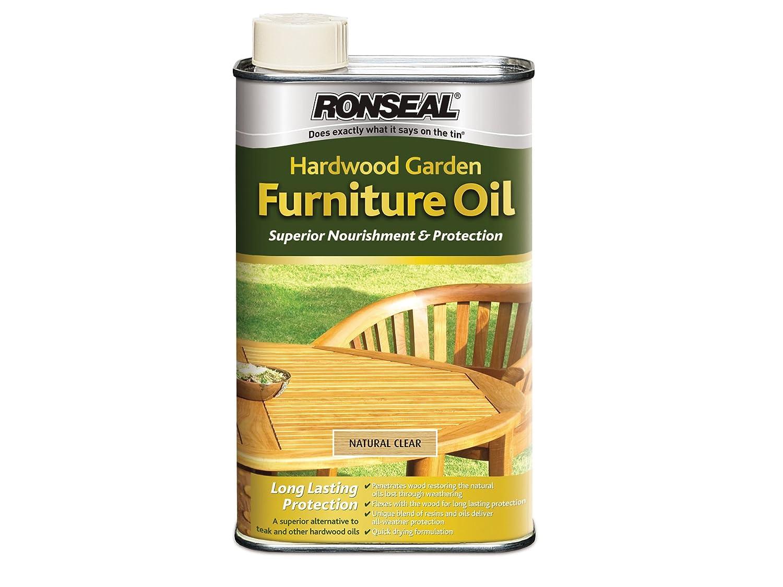 Ronseal HFONT1L 1L Hardwood Furniture Oil   Natural Teak  Amazon co uk  DIY    Tools. Ronseal HFONT1L 1L Hardwood Furniture Oil   Natural Teak  Amazon