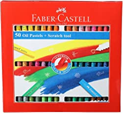 Faber - Castell Oil Pastels (Pack Of 50)