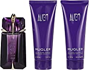 Thierry Mugler Alien Luxury Set by Thierry Mugler for Women - Eau de Parfum 60ml, Body Lotion 3.5oz and Shower Milk 3.5oz