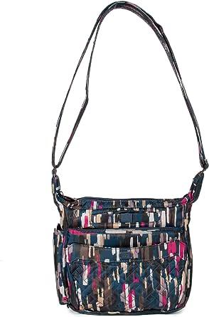 LUG Flutter Mini Cross Body Bag, Riverwalk Blue Umhängetasche