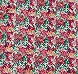 Rote und weiße Blumendruck-Schneiderei 42 Zoll breite