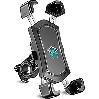 Cocoda Porta Cellulare da Bici Staccabile in Acciaio Inossidabile, Porta Cellulare Moto Anti Vibrazione con Rotazione a…