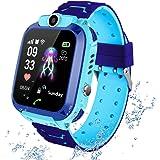 Waterdichte smartwatch voor kinderen; met diverse functies; o.a. lokalisatie via GPS, touchscreen, camera, telefoon, chat, we