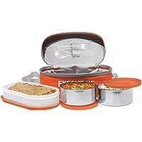 Milton Executive Lunch Box Set, 3-Pieces, 260 ml, Orange
