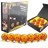 DragonBall Z Replica sfera di cristallo 43 millimetri Diametro Anime Dragonball Set di 7CS con confezione regalo