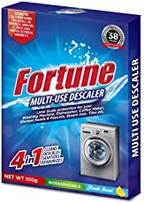 Fortune Multi-Use Descaler Powder For Washing Machine, Dish Washer Etc (Pack Of 4)