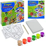 Toy Cloud Finger Painting Junior Game   2 in 1 Sponge & Finger Painting   Smooth, Colorful Finger Paints