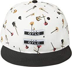 Noise NOICAPSB030 Polyester Musical Snapback Cap, Adult (Multicolor)