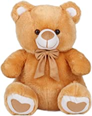 Ultra Spongy Teddy Bear Soft Toy Gifts, Brown (15-inch)