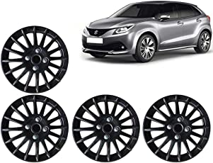Auto Pearl 15-inch Wheel Cover Cap for Maruti Suzuki Baleno 2015 (Set of 4)