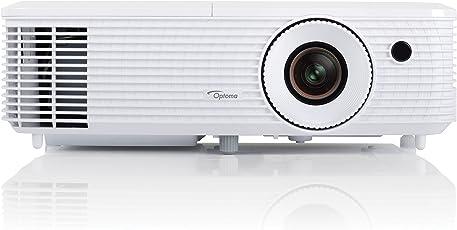 Optoma HD27 DLP Projektor (Full HD, 3200 Lumen, 25.000:1 Kontrast, 3D, Zoom 1,1x)