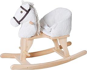 Knorrtoys 40490 - Baby Schaukelpferd Sandy mit Sound