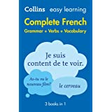 Easy Learning French Complete Grammar, Verbs and Vocabulary (3 books in 1): Trusted support for learning (Collins Easy Learni