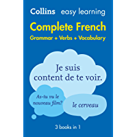 Easy Learning French Complete Grammar, Verbs and Vocabulary (3 books in 1): Trusted support for learning (Collins Easy…