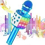 Microfono Karaoke Bluetooth Wireless, JoyKing Karaoke con Microfono per Bambini 4 in 1 Microfono Portatile Karaoke…