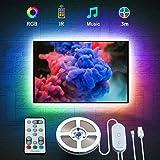 Govee LED TV Hintergrundbeleuchtung, geeignet für 46-60 Zoll Fernseher und PC, steuerbar via Fernbedienung, RGB, USB betriebe