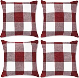 Motige Fall Pillow Covers 18x18 inch