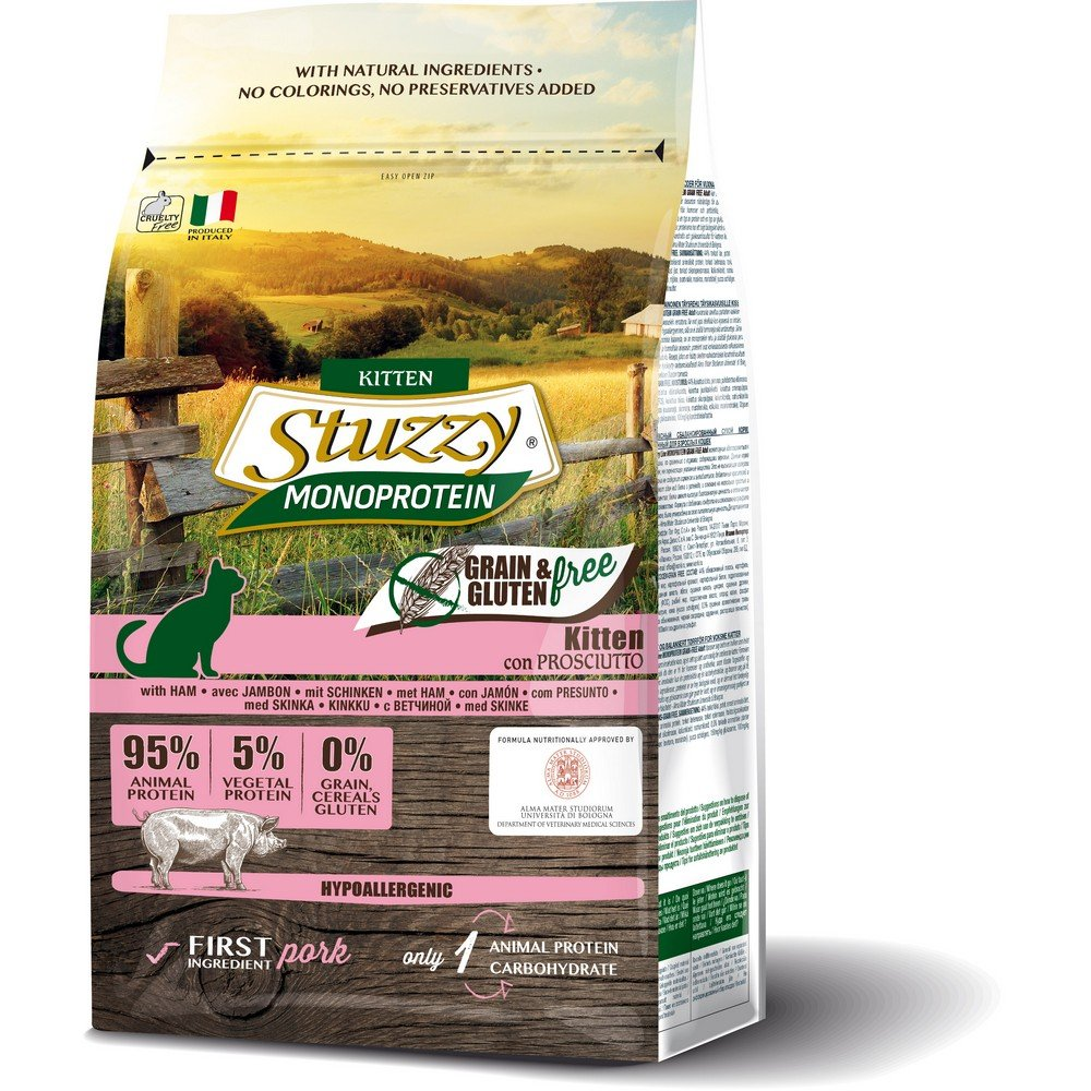 Stuzzy PIENSO Gato Cachorro – 1500 gr