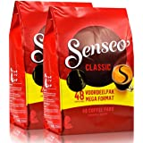 Senseo Regular / Classic, Nuevo Diseño, Paquete de 2, 2 x 48 Monodosis