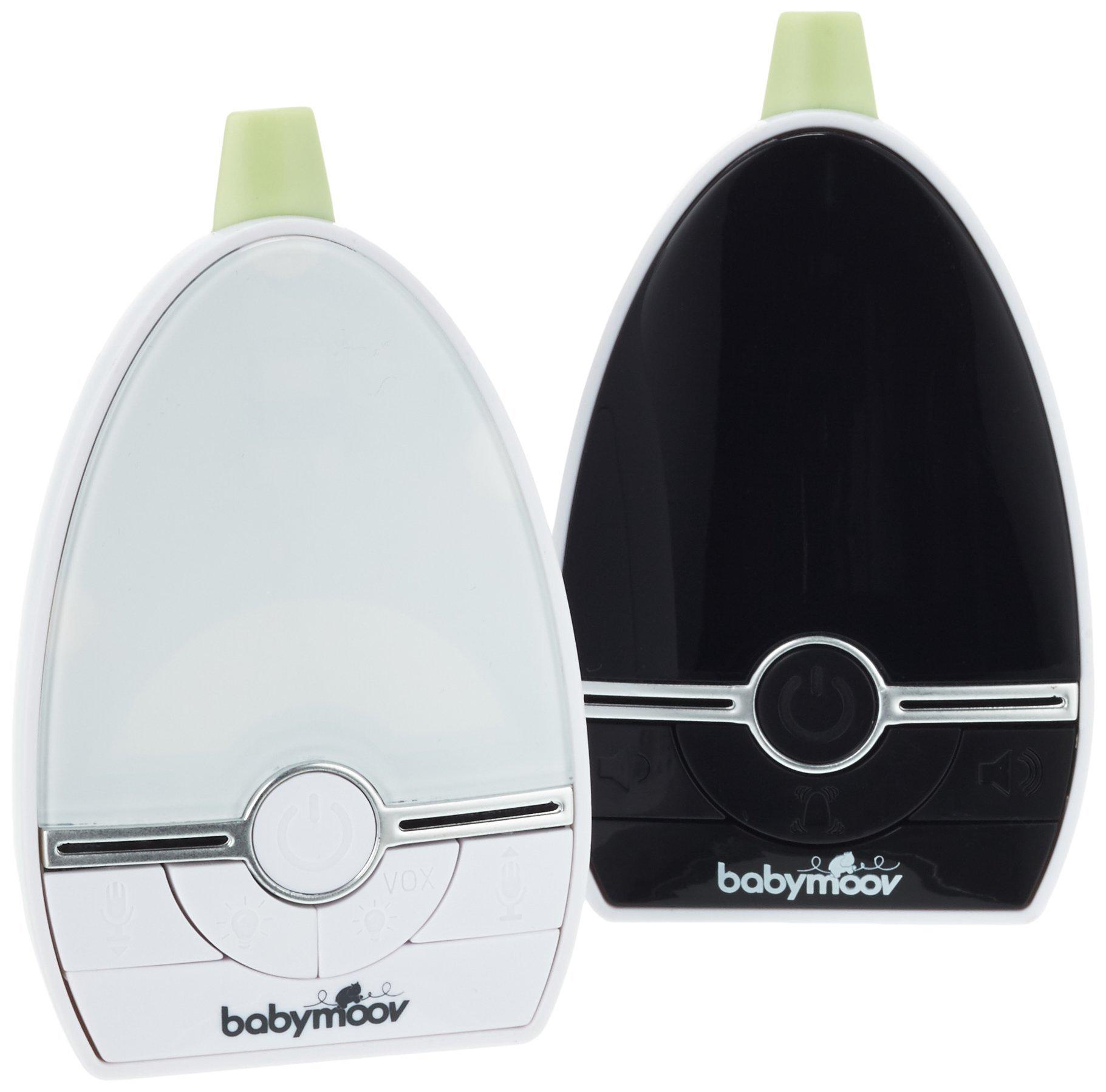 Babymoov Expert Care Digital Green Audio Baby Monitor (UK Plug) BABYMOOV 1000 m range VOX function (voice activation mode) Three alarms: Acoustic/visual/vibration 2