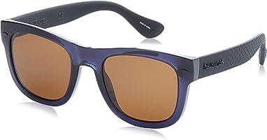 Havaianas Wayfarer Unisex Sunglasses - Brown Lens, 52