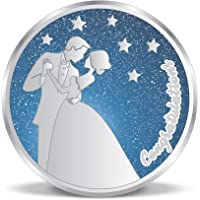 ACPL Precious Moments Anniversary Marriage Gift 999 Pure Silver Coin 10gm 20gm 50gm 100gm