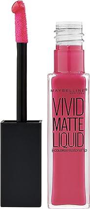 Maybelline New York Color Sensational Vivid Matte Liquid Lip Gloss 30 Fuchs