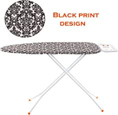 Meded Premium International Quality Ironing Board/Iron Table Stand with Press Holder, Foldable & Height Adjustable (110 x 33 cm)