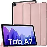 EasyAcc Hülle Kompatibel mit Samsung Galaxy Tab A7 10.4 2020 SM-T500 T505 T507, Ultra Dünn mit Standfunktion Slim PU Leder Sm