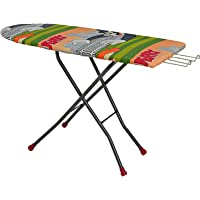 "Parasnath Heavy Duty Folding Ironing Board Table 18"" X 48"" (Colour May Vary, Multi-Color)"