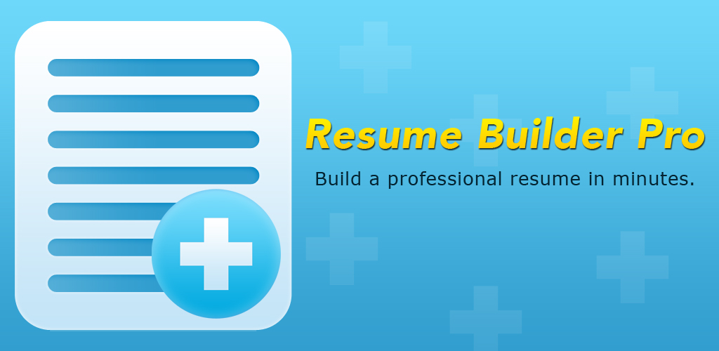 resume builder pro de apps f 252 r android